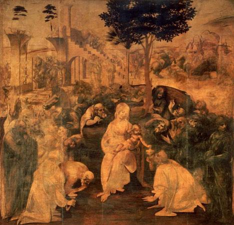 Поклонение волхвов (Леонардо да Винчи)