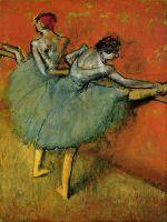 Дега (Degas) Эдгар Танцовщицы у станка