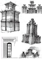 Архитектурные наброски