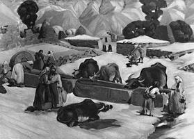 У родника (С.А. Аракелян, 1928 г.)