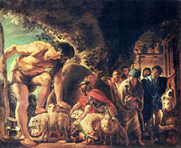 Одиссей в пещере Полифема
