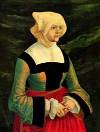 Портрет женщины (А. Альбрехт)
