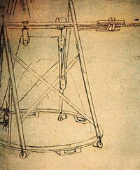 Подъемный кран с кольцевой платформой