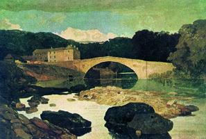 Мост Грета (Дж.С. Котмен, 1805 г.)