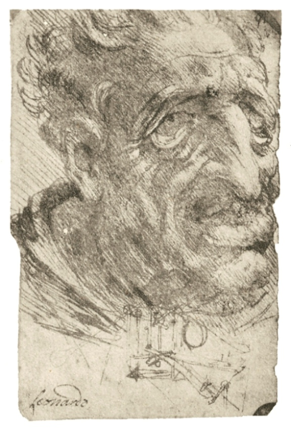 Лицо старого человека