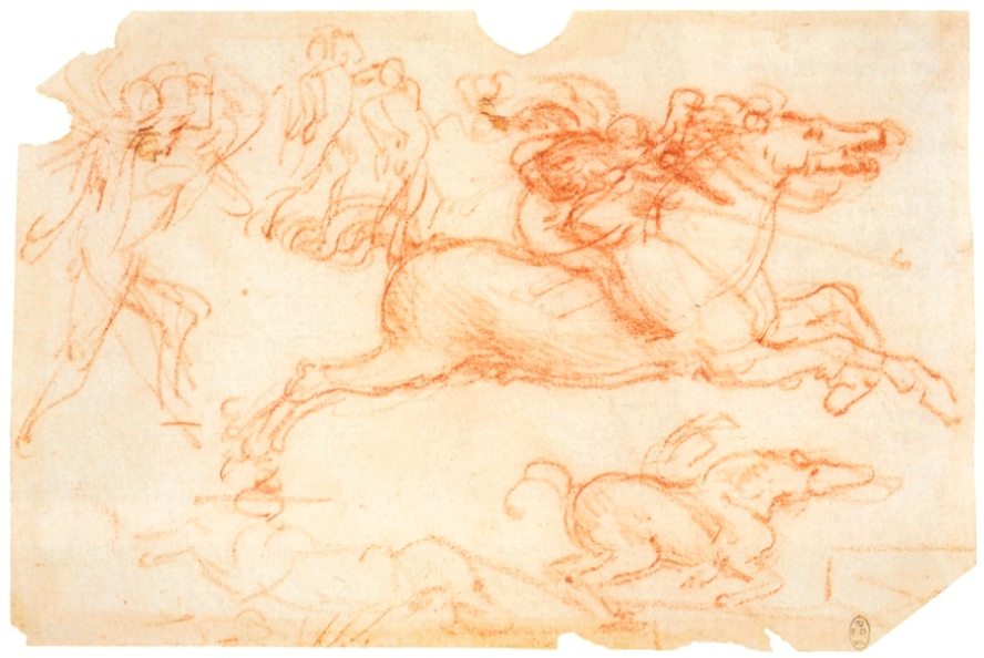 Лошади на поле битвы