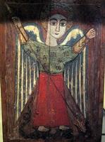 Архангел (коптская икона 7 века)
