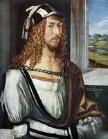Автопортрет (Альбрехт Дюрер, 1498 г.)