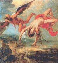 Падение Икара (Я.П. Гоуи, 1636-1637 г.)