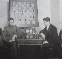 Первая встреча Алёхина и Капабланки