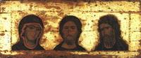 Деисус: Спас, Богоматерь, Иоанн Предтеча