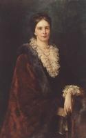 К.Е. Маковский. Портрет П.С.Уваровой. Масло. 1882 г.