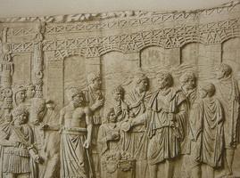 Барельеф с изображением Траянова моста