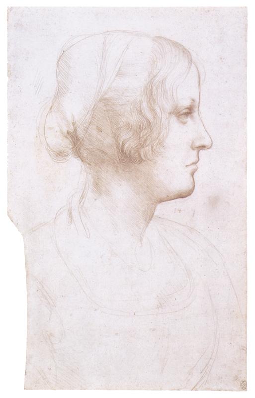 Лицо молодой женщины