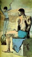 Девочка на шаре (П. Пикассо)