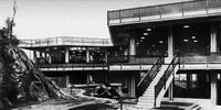 Столовая фирмы Оливетти в Ивреа (И. Гарделла, 1959 г.)