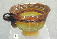 Агатовая чашка (Работа фирмы Фаберже. Саксония, Германия. Начало XX в.)