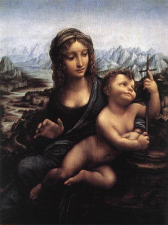 Мадонна с веретенами (Леонардо да Винчи)