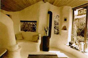 Дом из самана (Вид изнутри)