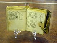 Записная книжка с кодексом Леонардо да Винчи