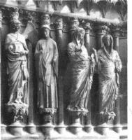 Реймский собор. Западный фасад, ок. 1225-1299 г.