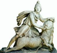 Митра, убивающий быка (эпоха Римской Империи)
