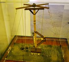 Подъемное устройство на телеге