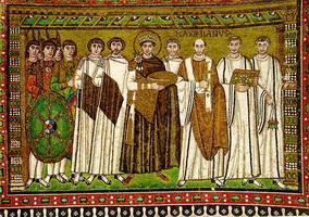 Мозаика из в церкви Сан-Витале в Равенне (6 век)
