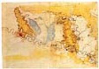 Карта Тосканы с изображением реки Арно