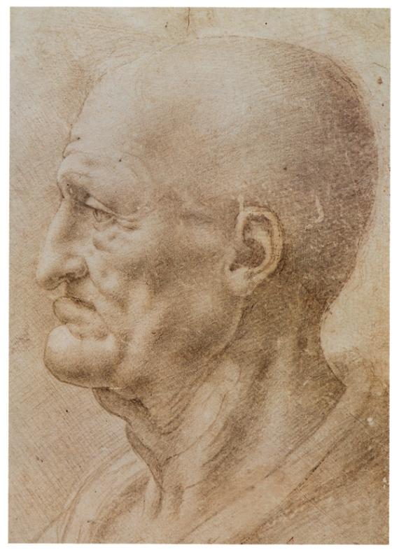Лицо пожилого человека