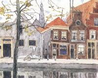Канал Хаарлем (М.В. Добужинский, 1910 г.)