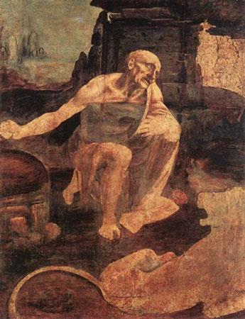 Святой Иероним (Леонардо да Винчи)