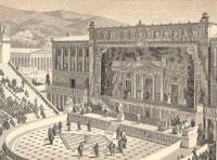 Театр Диониса в Афинах в римское время